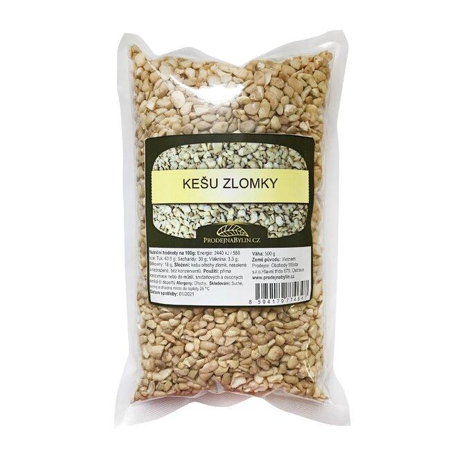 Kešu ořechy zlomky malé LSP, 500 g
