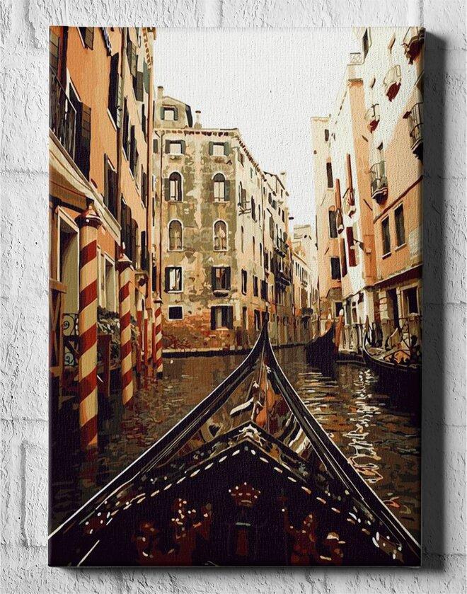 První den v Benátkách