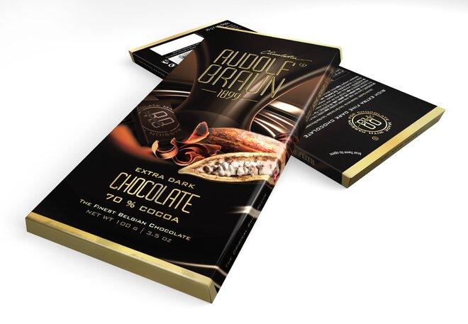 Extra hořká čokoláda, 70 % kakaa