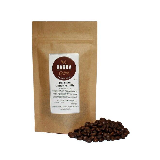DK Blend Coffee Familly - zrnková