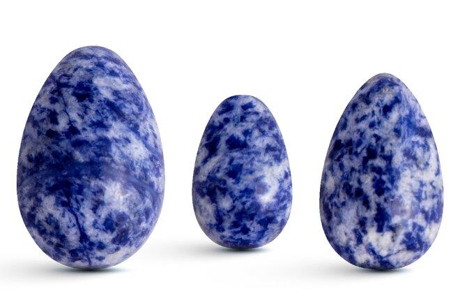 Sada 3 Yoni vajíček – sodalit