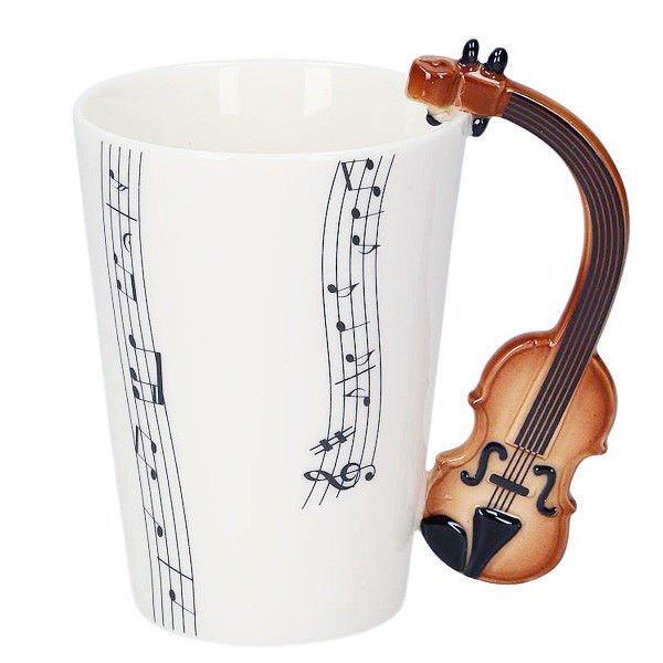 Hudební hrnek – housle