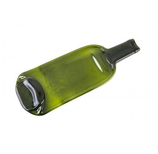 Servírovací prkénko z vinné láhve