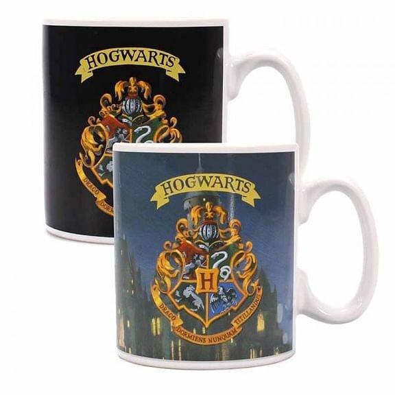 Proměňovací hrnek: Hogwarts Crest (400 ml)