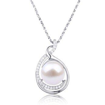 Stříbrný přívěšek s pravou říční perlou Tove