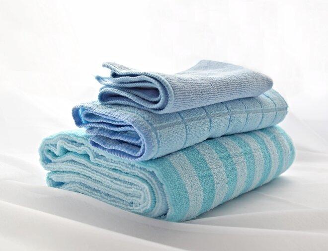 Set ručník, osuška a prachovka