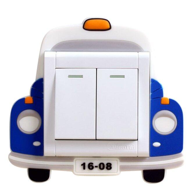 Ozdoba na vypínač – auto