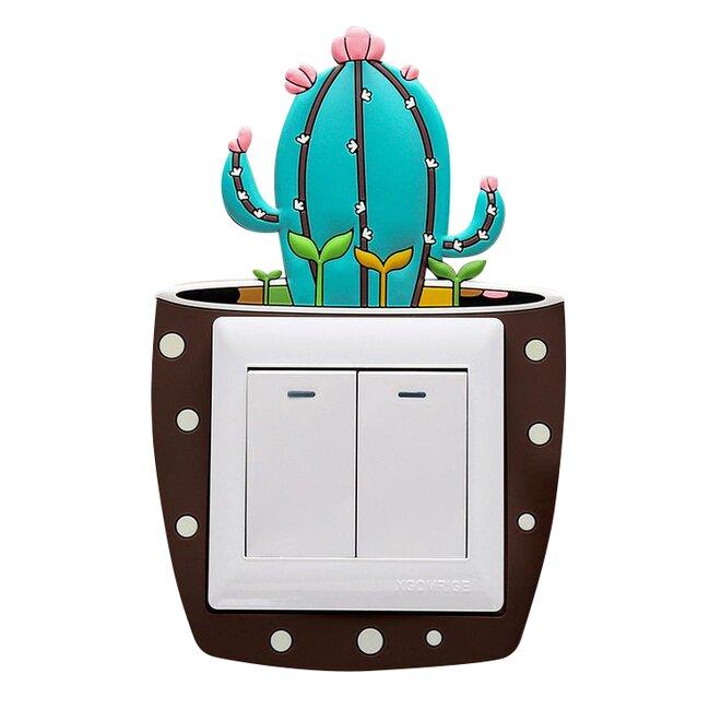 Ozdoba na vypínač – kaktus vysoký