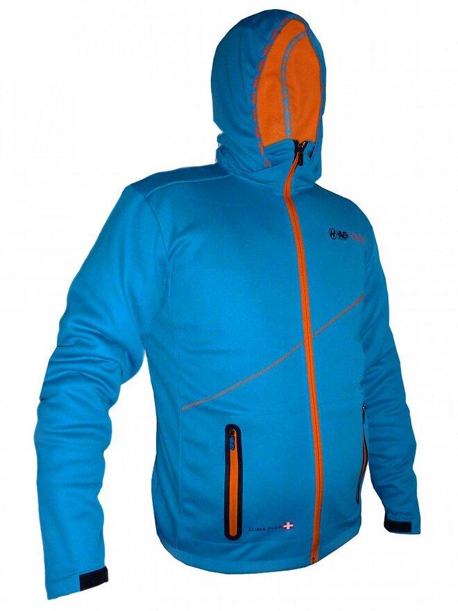Pánská bunda Haven Thermotec – oranžový vnitřek