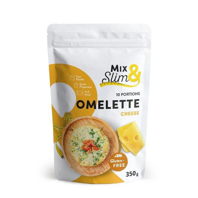 Proteinová dietní omeleta Mix & Slim, sýrová, 10 porcí