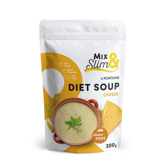 Dietní polévka sýrová, 6 porcí