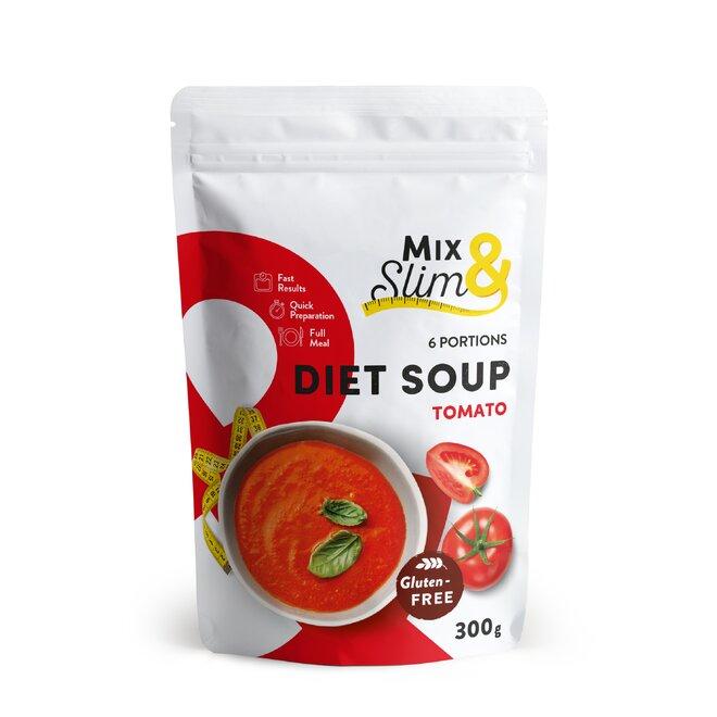 Dietní polévka rajská, 6 porcí
