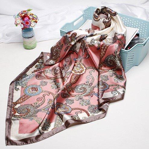 Saténový šátek - vzor 9