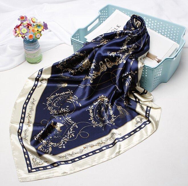 Saténový šátek - vzor 5