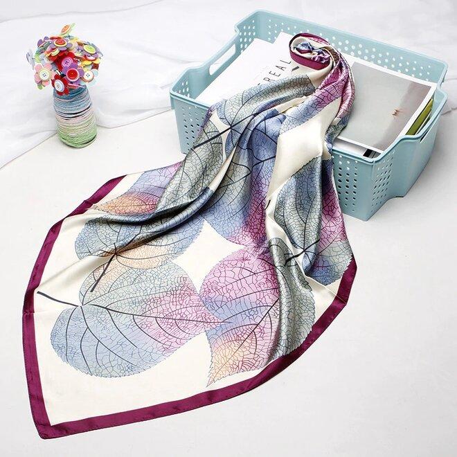 Saténový šátek - vzor 2