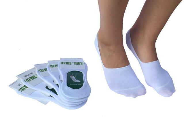 5 párů dámských bavlněných ponožek