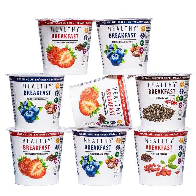 Zdravá snídaně 7+1 zdarma – mix I