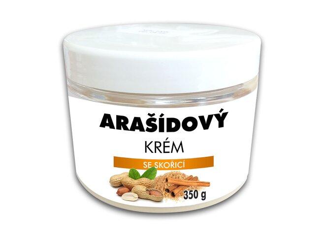 Arašídový krém se skořicí, 350 g
