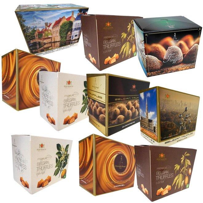 10× truffles, mix 5–7 příchutí