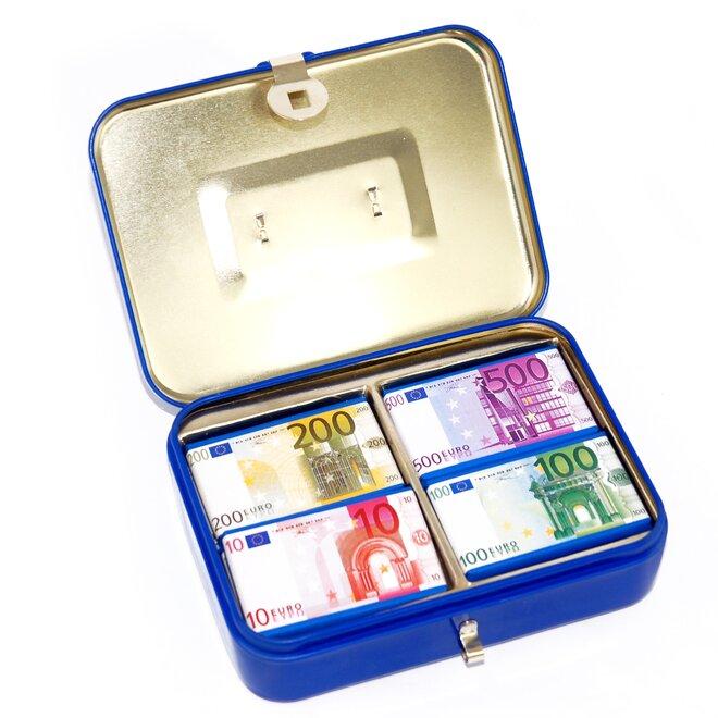 Euro kufřík kovový, 60 g