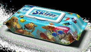 Vlhčené ubrousky Skippy Aqua