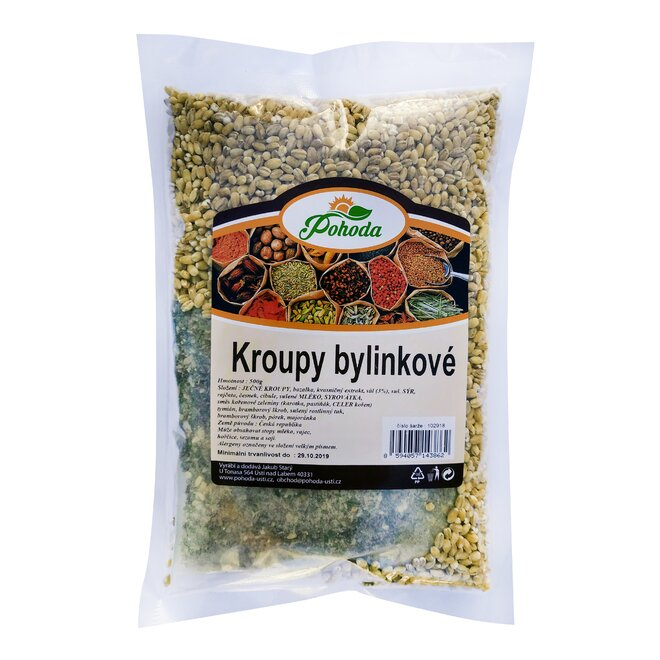 Kroupy bylinkové, 500 g