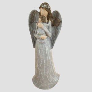Anděl s miminkem (25 cm)