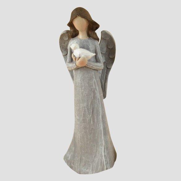 Anděl s holubicí (20 cm)