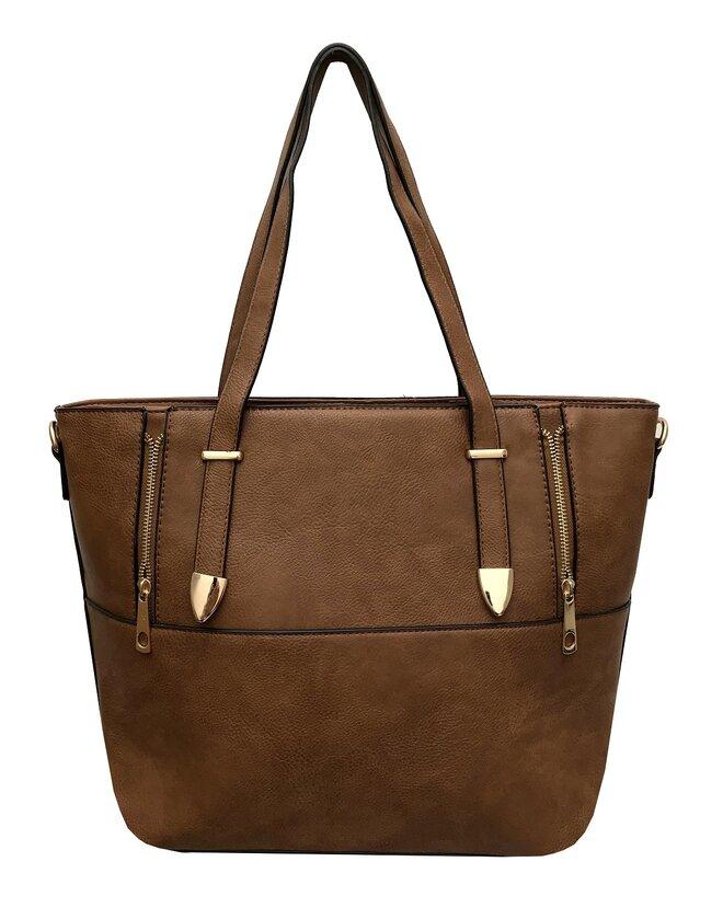 Dámská kabelka Giandino M906 Brown