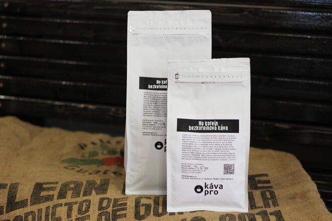 Bezkofeinová káva No Kofein, 500 g