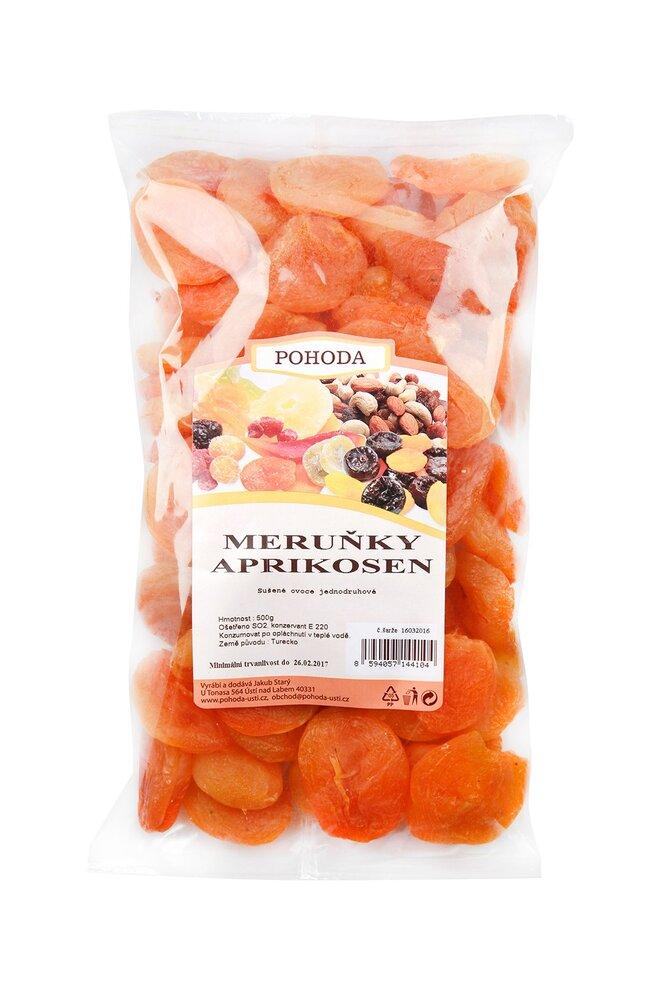Meruňky sířené, 500 g
