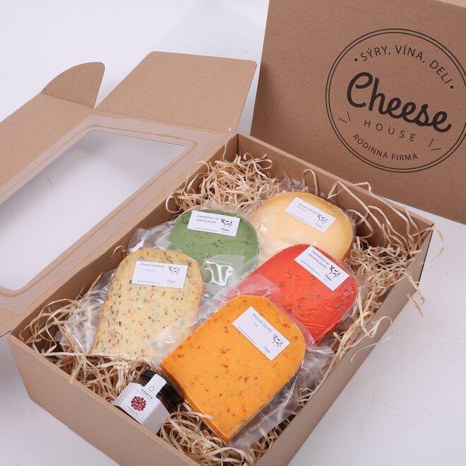 Balíček sýru a dipu (bez dárkové krabice)