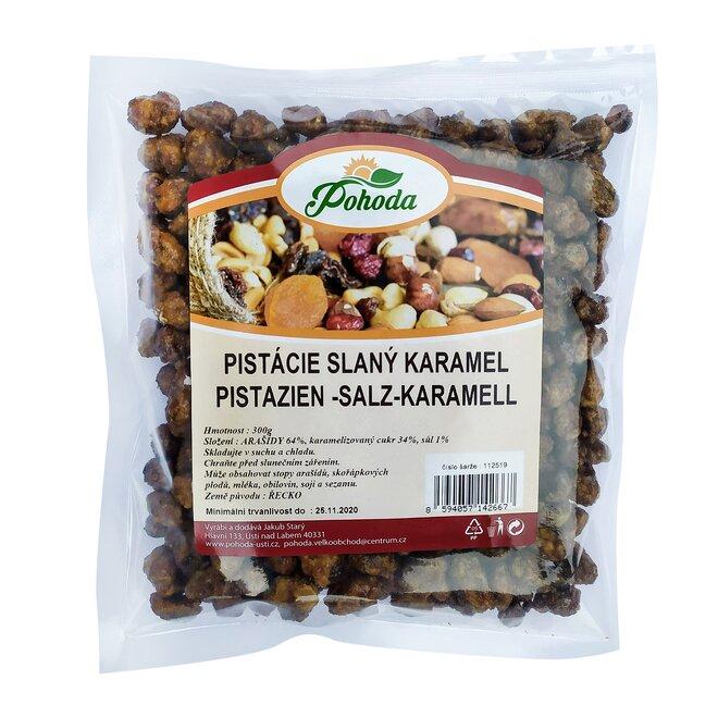 Pistácie slaný karamel, 300 g