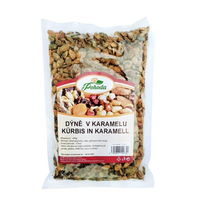 Dýně v karamelu, 400 g
