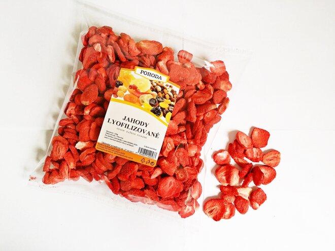 Jahody plátky, 100 g