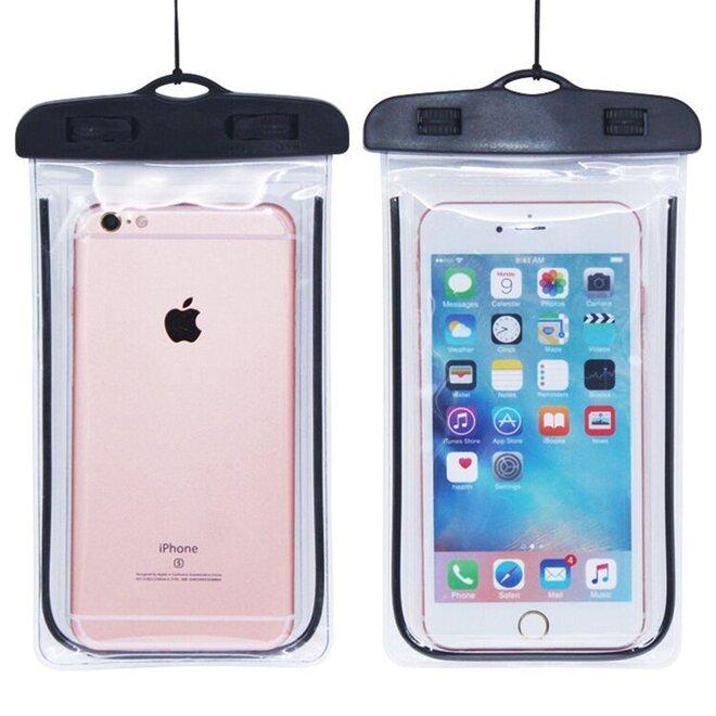 Vodotěsné pouzdro na mobil nebo doklady XL černé
