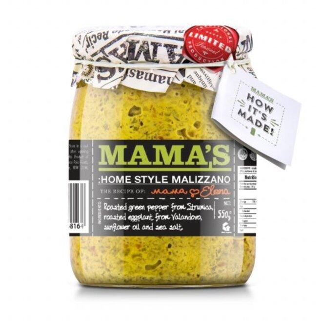 Zelený ajvar Malizzano – jemný (550 g)