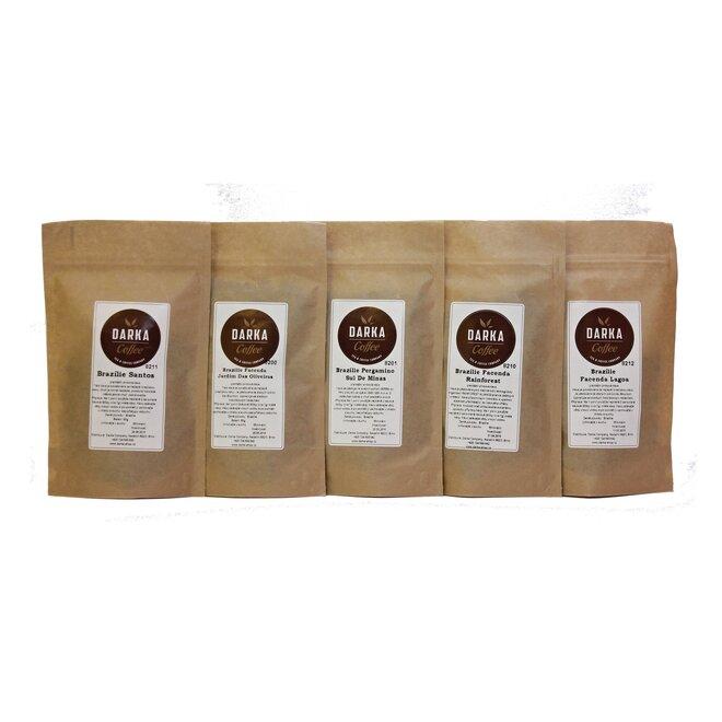 Kávové Degustační menu Brazílie