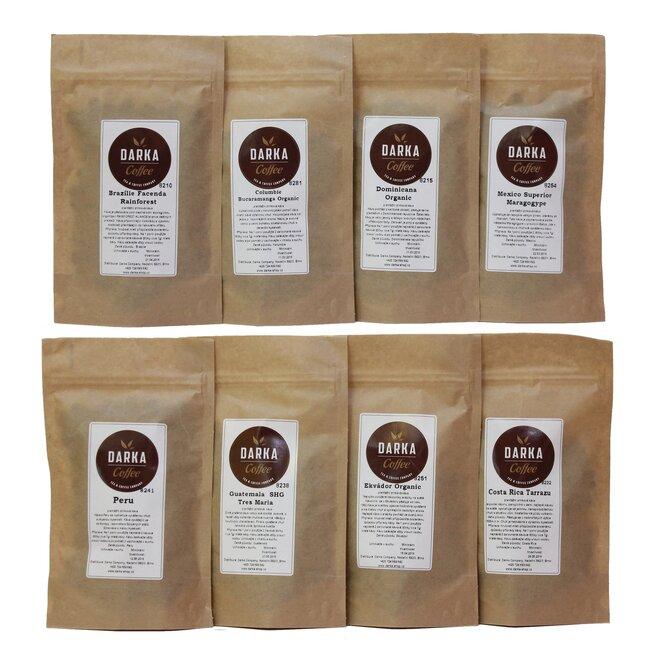 Kávové Degustační menu De Luxe