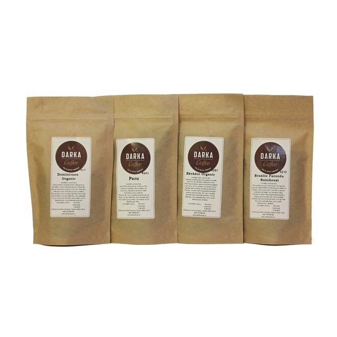 Kávové Degustační menu Organic