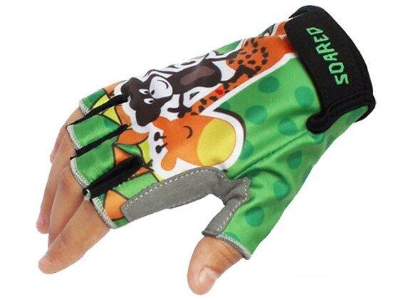 Dětské cyklistické rukavice