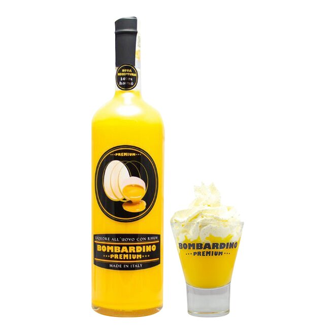 Bombardino Premium 1000 ml se skleničkou