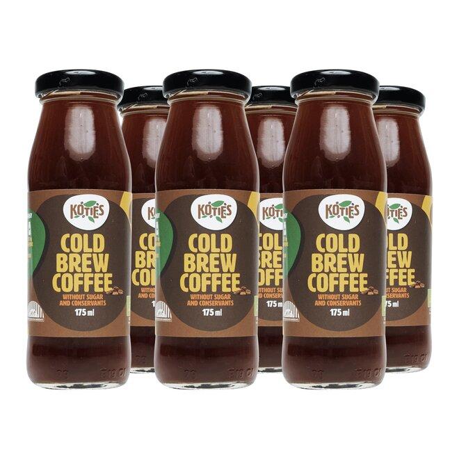 Lahvičky bio cold brew kávy (6× 175 ml)
