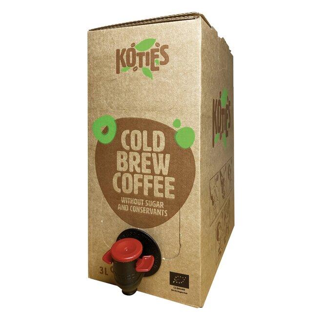 Box bio cold brew kávy (3 l)