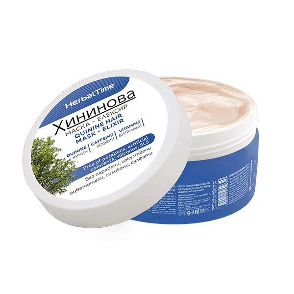 Herbal Time - Chininová maska na vlasy, 200 ml