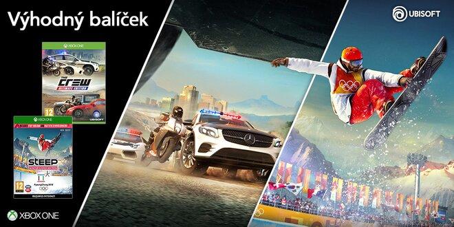 Balíček pro Xbox One: The Crew a Steep