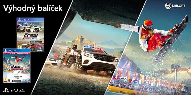 Balíček pro PS4: The Crew a Steep Kolekce
