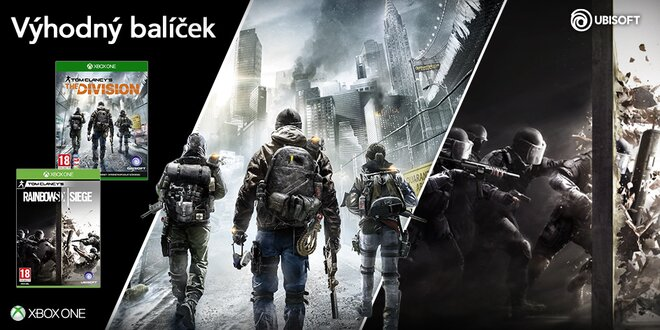 Balíček pro Xbox One: The Division a Rainbow Six Siege kolekce