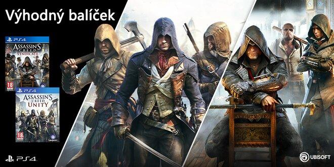 Balíček pro PS4: Assassin's Creed kolekce – Unity, Syndicate
