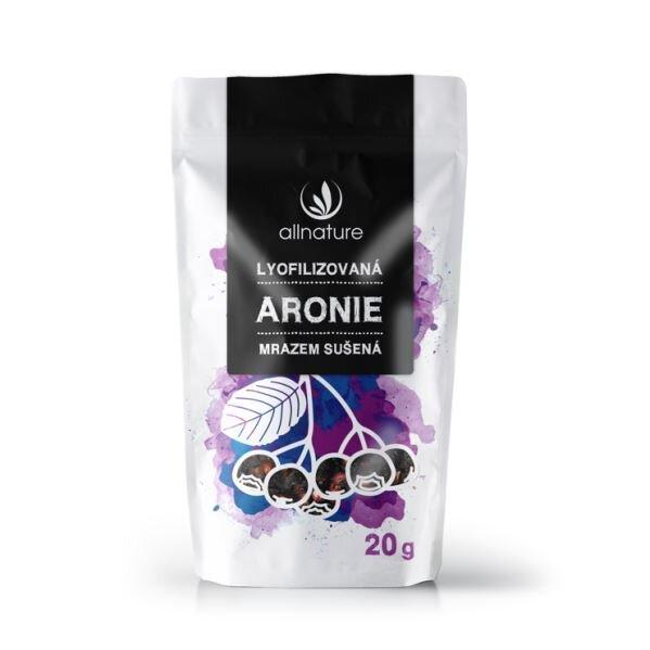 Aronie sušená mrazem celá, 20 g